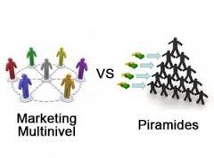 Diferencias entre las Pirámides y el Multinivel